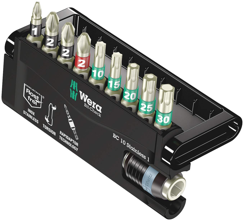 Wera Set de control de puntas Rapidaptor de BC 10/9 (PH/P...