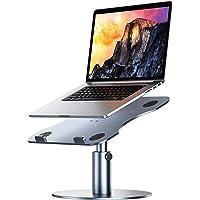 YoFeW Adjustable Aluminum Swivel Laptop Stand/Riser