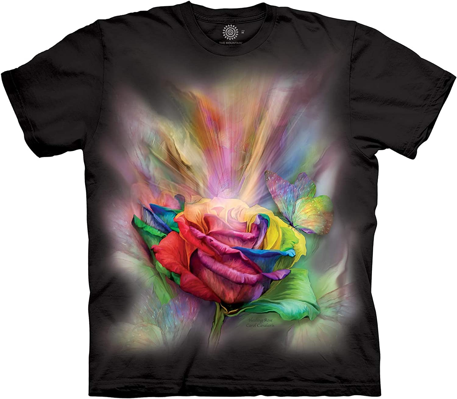 The Mountain Men's Healing Rose T-Shirt