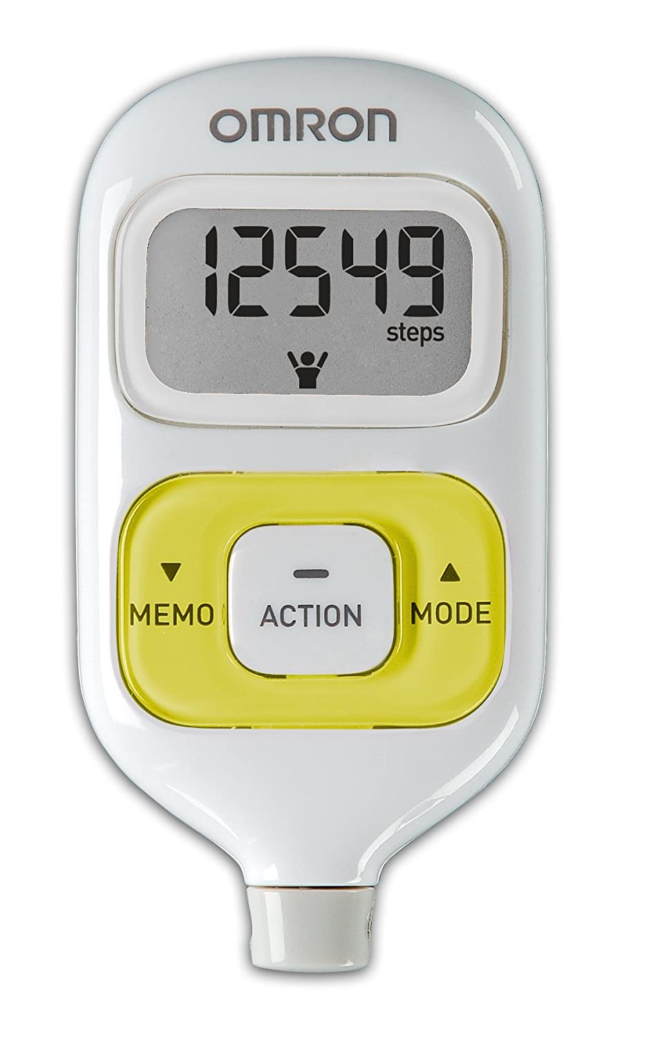 Pedometer Omron - a personal trainer for little money 11