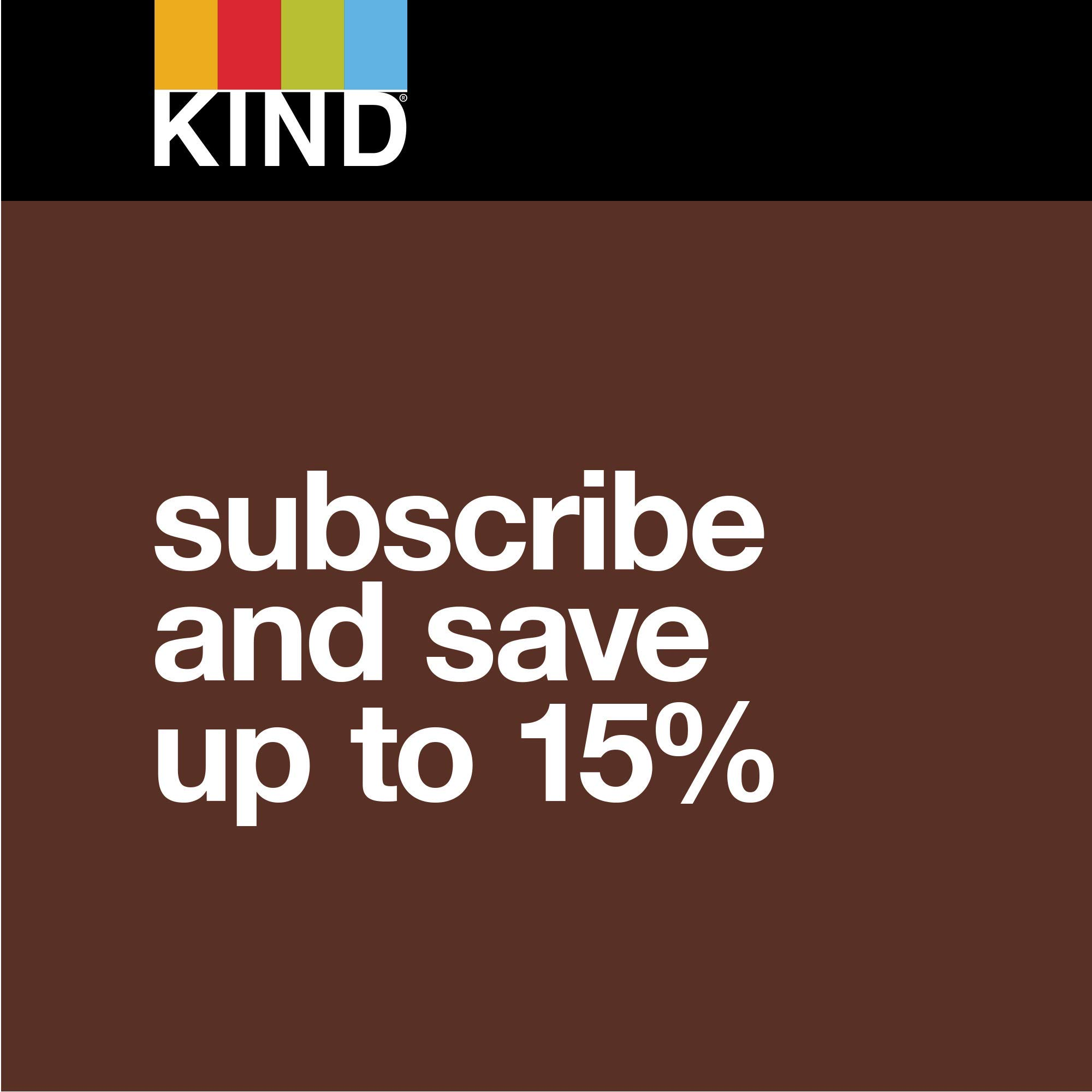 KIND Bars, Almond & Coconut, Gluten Free, Low Sugar, 1.4oz, 48 Count by KIND (Image #6)