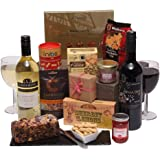 Luxury Food And Wine Hamper - Perfect For Him or Her - Birthday Hampers & Special Occasion Gifts