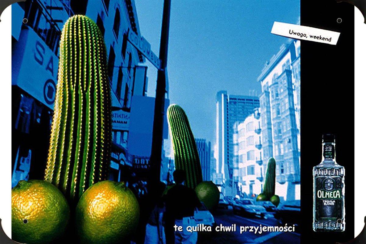 Olmeca Tequila: WEEKEND IS ON metal poster cartel hojalata ...