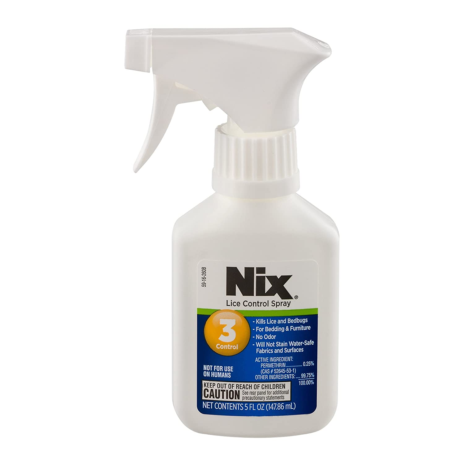 Amazon com  Nix Lice Control Spray   Kills Lice and Bedbugs on Bedding and  Furniture   Odorless and Stainless   5 Fluid Ounces  Health   Personal Care. Amazon com  Nix Lice Control Spray   Kills Lice and Bedbugs on