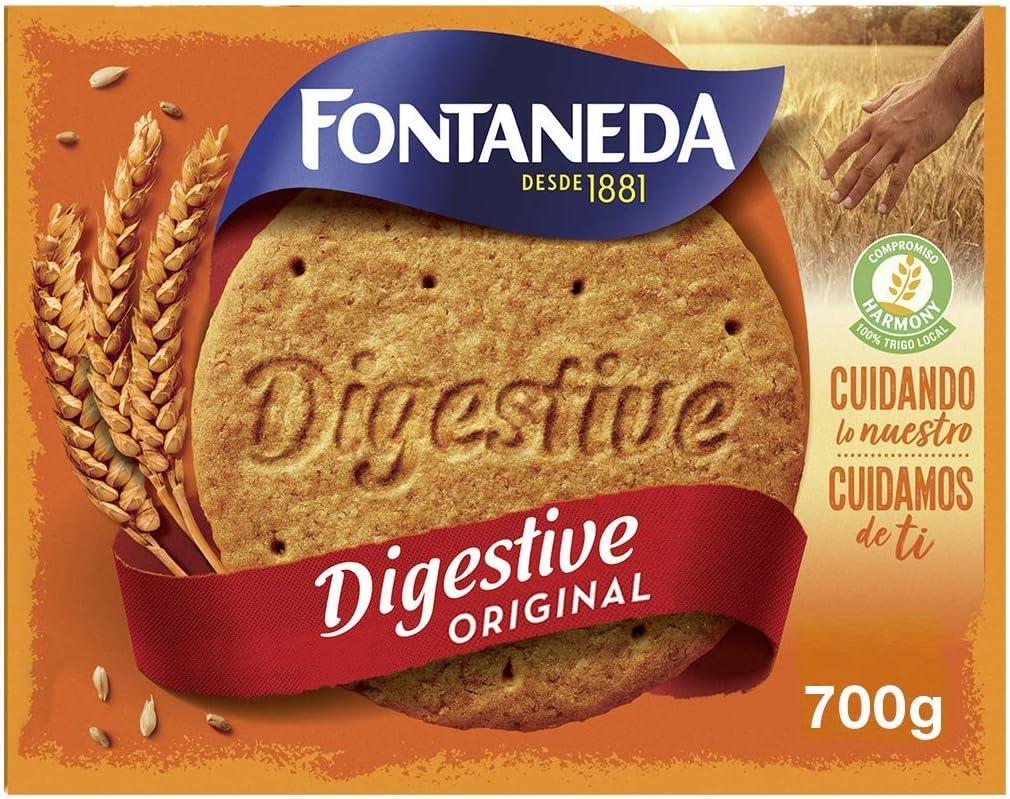 Fontaneda - Digestive Galletas, 700 g: Amazon.es: Alimentación y bebidas