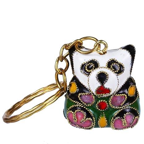 Llavero oso panda, decoración, objetos de adorno, esmaltado ...
