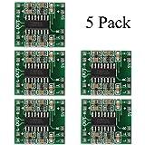 HiLetgo 5pcs Super Mini PAM8403 Digital Power Amplifier Board 23W Class D 2.5-5V USB Power