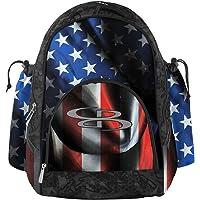 "Boombah Tyro Baseball/Softball Bat Backpack - 20"" x 15"" x 10"" - USA Black Ops Black/Royal Blue/Red"
