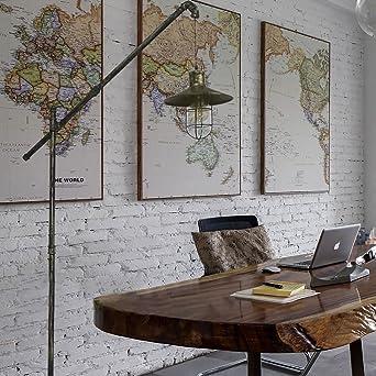 Chambre lampadaire Rétro industriel lampadaire salon chambre lampe de  chevet/étude tuyau d\'eau créative lampadaire lampadaires