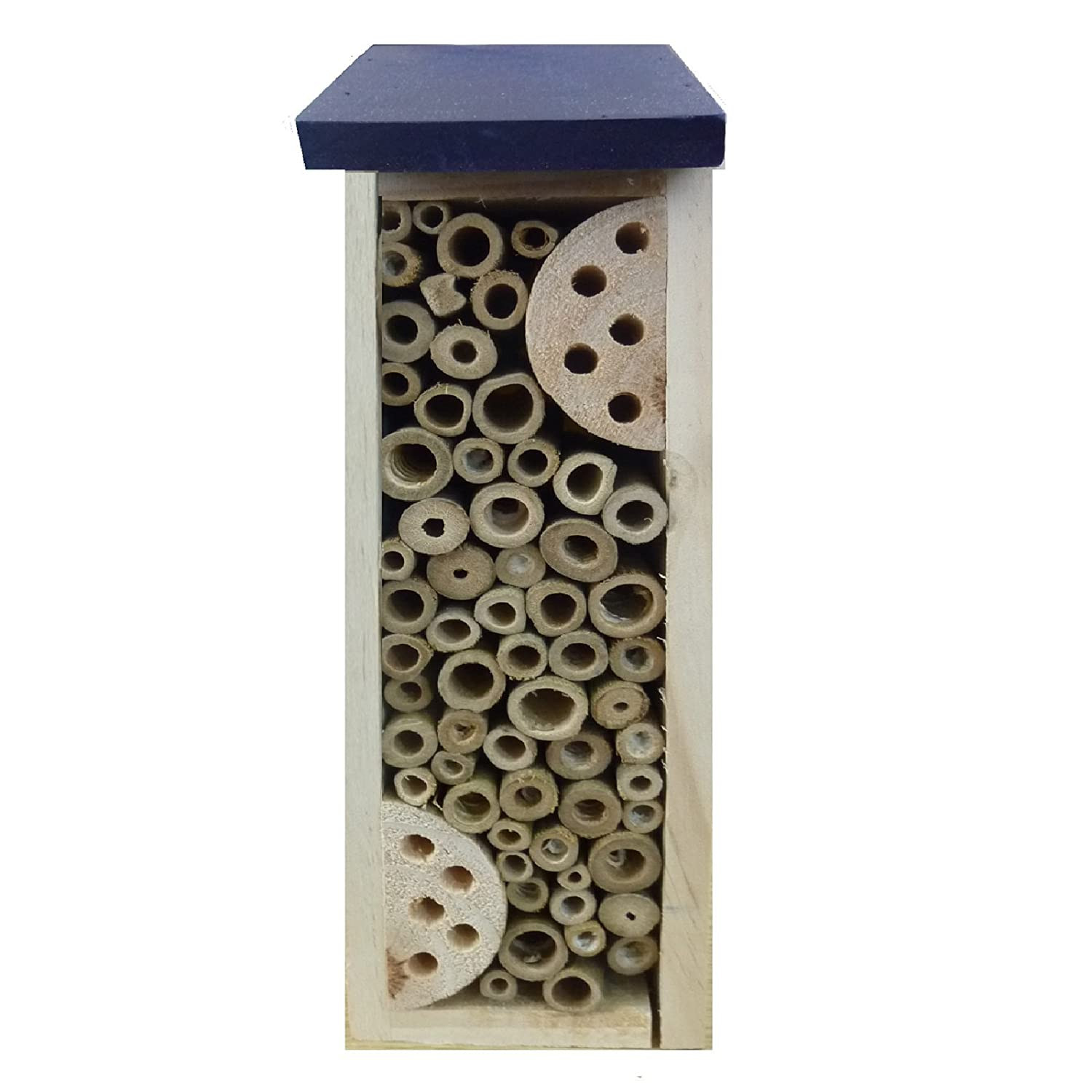 WOODEN BAMBOO INSECT BUGS GARDEN HANGING HOTEL HOME BEES LADYBIRD NEST BOX HOUSE EUROTRADE W LTD