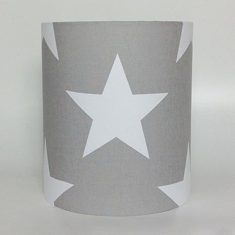 Lámpara de techo o de mesa con estrellas blancas muy grandes ...