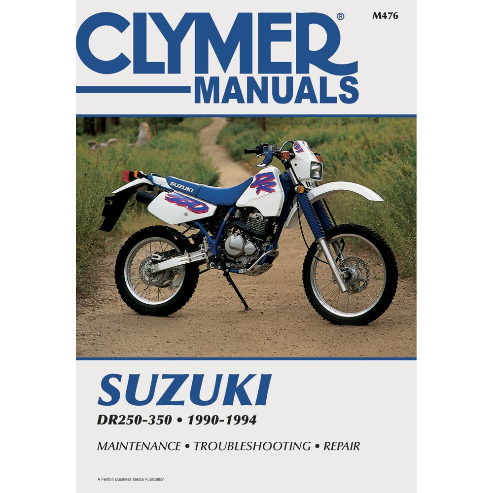 Amazon.com: 1990-1994 CLYMER SUZUKI MOTORCYCLE DR250-350 SERVICE MANUAL NEW  M476: Manufacturer: Automotive