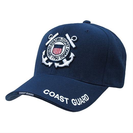 ec32e2fe3 Amazon.com: U.S. Coast Guard Cap Navy Military Branch Hat Cap Hats: Other  Products: Clothing