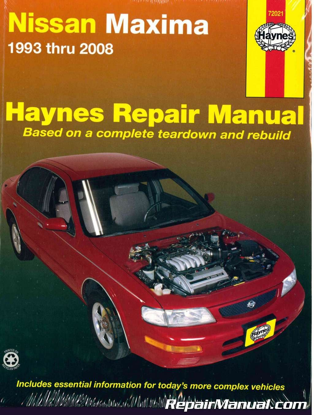 H72021 Nissan Maxima 1993-2008 Haynes Auto Repair Manual: Manufacturer:  Amazon.com: Books