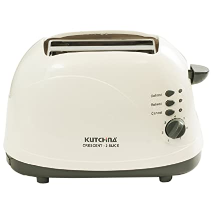 Kutchina Crescent 700 Watt Toaster, White