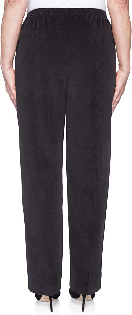 Alfred Dunner Womens Classic Short Length Cord Pant