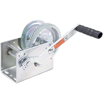 Goldenrod Dutton-Lainson DL3200A 3200 lb Plated Pulling Winch: Automotive