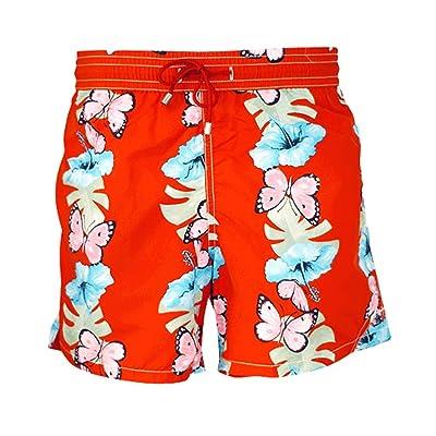 Bayahibe Boy's Swim Short Baya 8550/01 Size 6 Red Butterflies