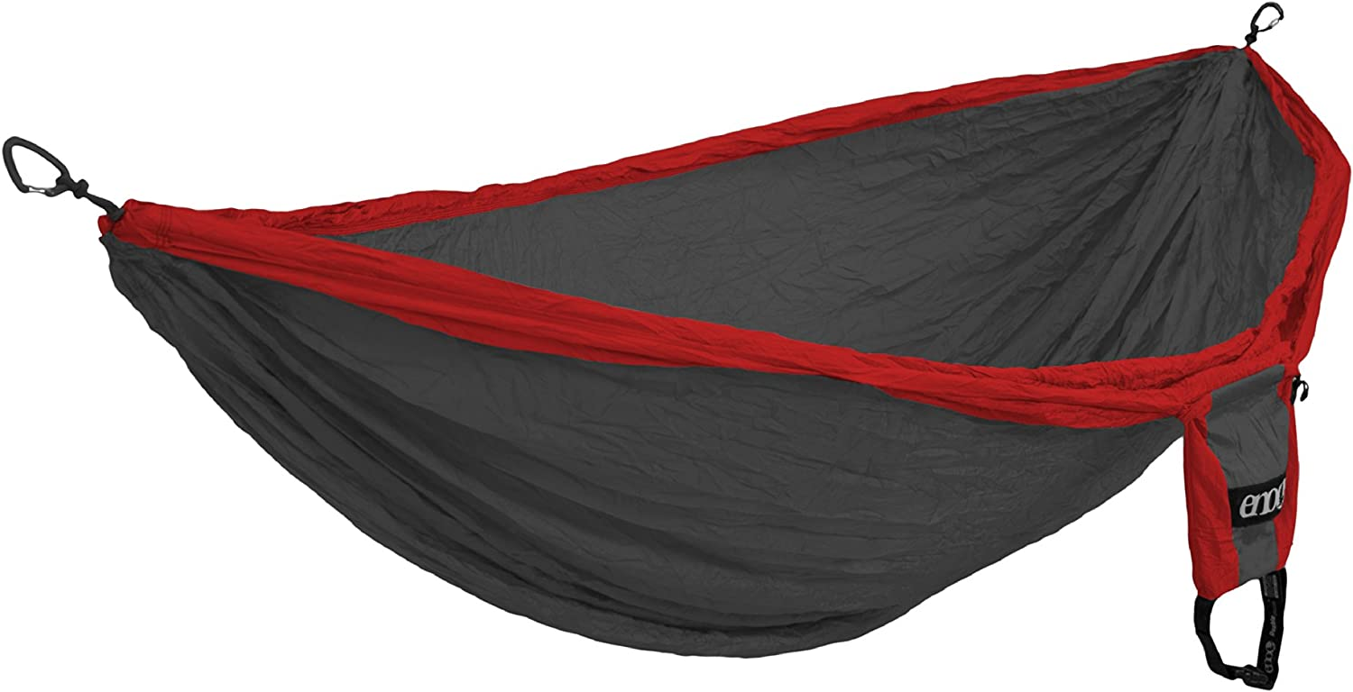 1 to 2 Person Eagles Nest Outfitters Double Deluxe Lightweight Camping Hammock ENO