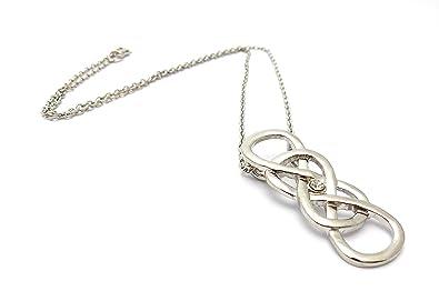 prix plancher de style élégant matériau sélectionné Collier Double Infini - Infinity - Revenge Emily Throne