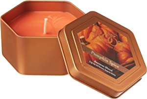 Root Candles Honeycomb Traveler Scented Beeswax Blend Candle, Pumpkin Spice
