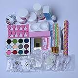 Acrylic Nail Kit, 12 Colors Acrylic Powder, Nails Kit Acrylic Set,Acrylic Powder and Liquid Set For Beginners or Professional