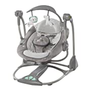 Ingenuity ConvertMe Swing-2-Seat, Orson/Grey