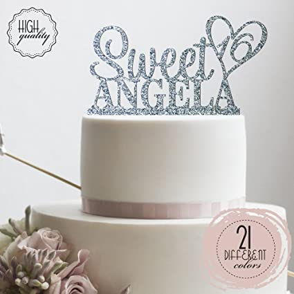 Image Unavailable Not Available For Color Personalized Sweet Sixteen Cake Topper