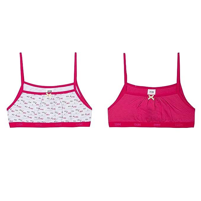Dim 6J63050, Pack de 2 Sujetadores Para Niñas, Rosa/Blanco (framboise), 16 Años: Amazon.es: Ropa y accesorios