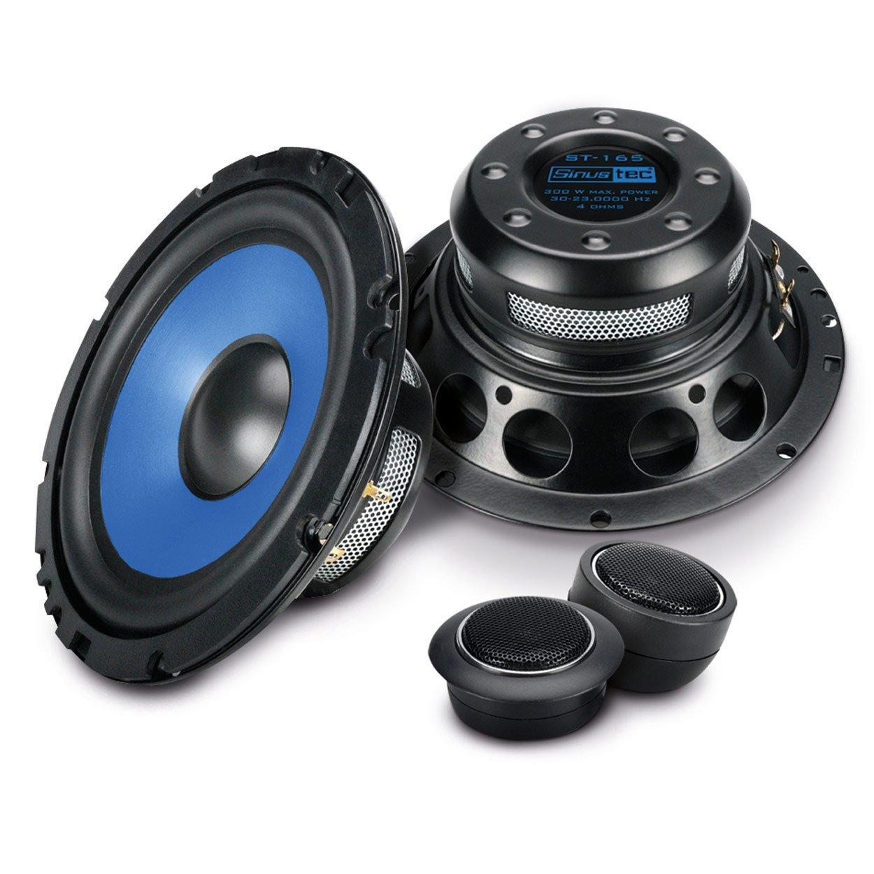 Sinustec 2 Wege Komponenten Lautsprecherboxen rund in 16 cm ...