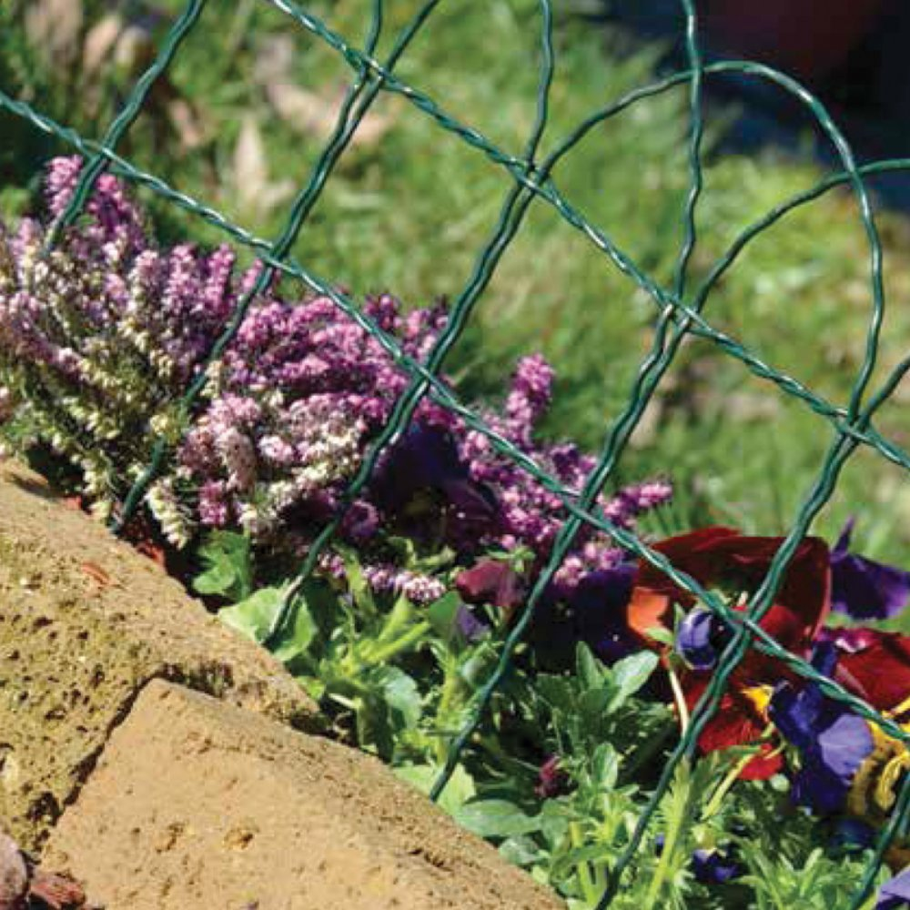 Interesting rete metallica xmt bordure aiuole fiori for Recinzione aiuole