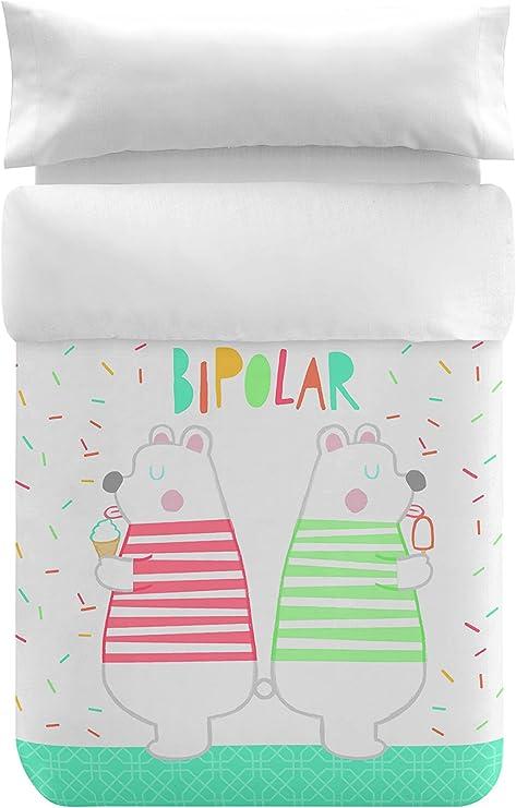 Bipolart Funda nórdica Bipolar algodón cama 90 cm: Amazon.es: Hogar