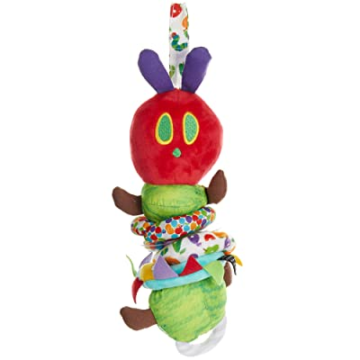 World of Eric Carle, The Very Hungry Caterpillar Activity Toy, Jiggle Caterpillar : Plush Toys : Baby