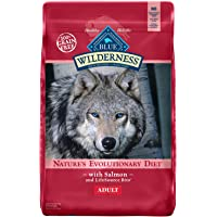 Blue Wilderness High Protein Grain Free Natural Adult Dry Dog Food Salmon