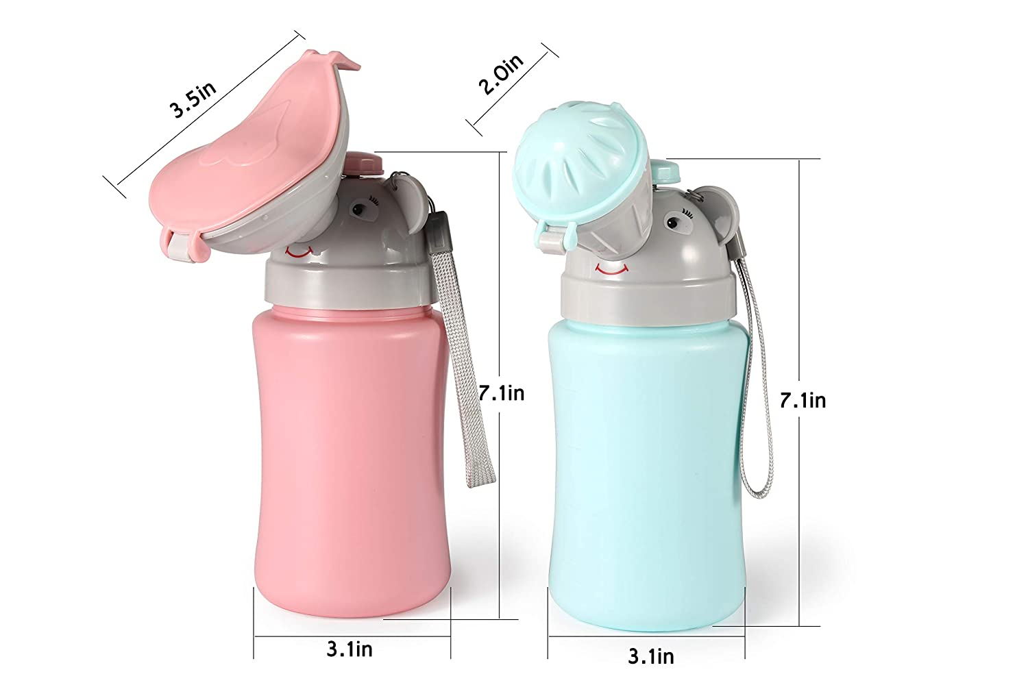 Blue ONEDONE Portable Baby Child/Potty/Urinal Emergency Toilet for Camping Car Travel and Kid Potty Pee Training