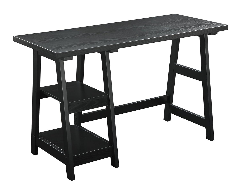 Designs 2 Go Trestle Desk By Convenience Concepts,black by SuperIndoor B002YD8E5E