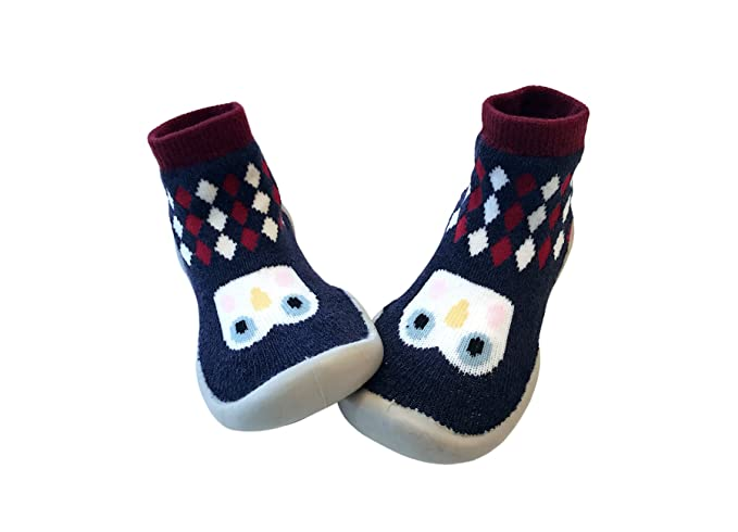 0a4c7b6a65093 Amazon.com: Baby Slipper Socks/First Walking Shoes with Sock/Toddler ...