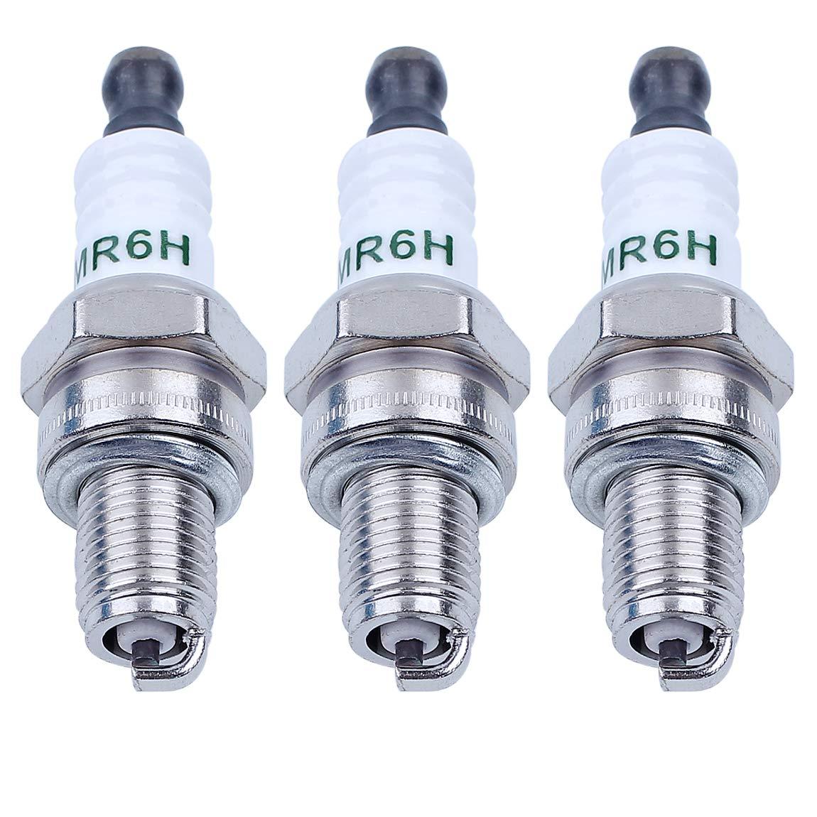Haishine CMR6H Candela Adatta per Stihl FS90 FS100 FS110 FS90R FS100R FS110R Trimmer NGK 3365