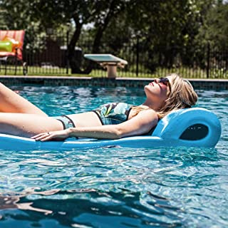 """product image for Texas Recreation Ultimate Swimming Foam Pool Floating Mattress, Marina Blue, 2.25"""" Thick"""