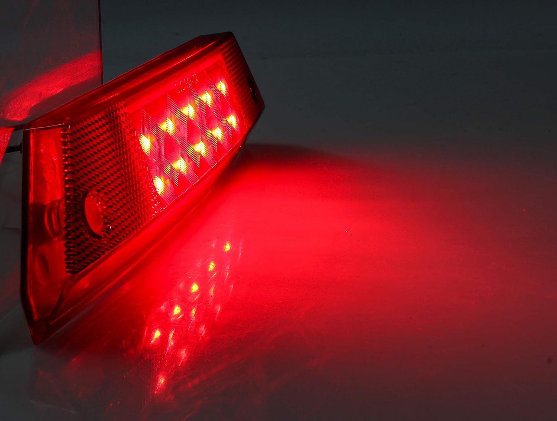 Left /& Right LED Taillight for Ranger SAUTVS Red Brake Stop Tail Light Rear Lamp for Polaris Ranger 800 700 900 2012-2016 Accessories 1PCS, Fit Driver /& Passenger Side, 2411099