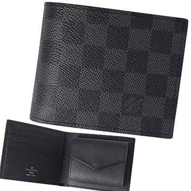 innovative design 89b0b a9c83 (ルイヴィトン) LOUIS VUITTON ダミエ グラフィット ポルトフォイユ マルコNM (2つ折り財布) 『N63336』