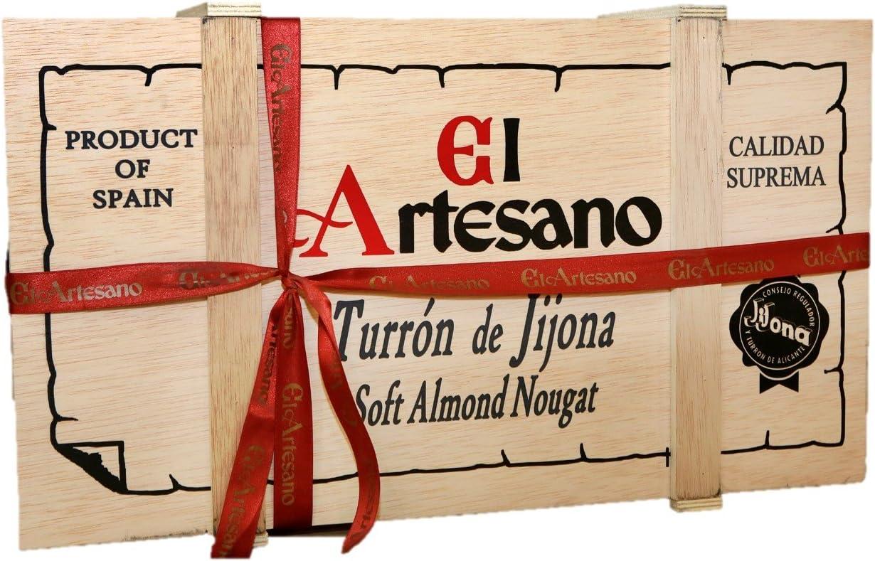 Edición Limitada - El Artesano Turrón Gigante de Jijona - 12 kg: Amazon.es: Alimentación y bebidas