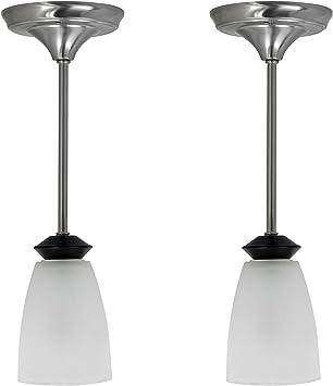 RV Dinette RV Ceiling Light RV Decorative Pendent Light Textured Black Kitchen Light Fixture 12V LED
