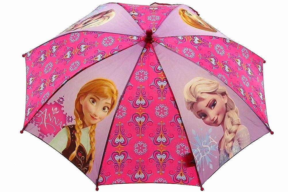 ディズニー公式 アナと雪の女王 アナ&エルサ アンブレラ 傘 子供用 B00KO984JG