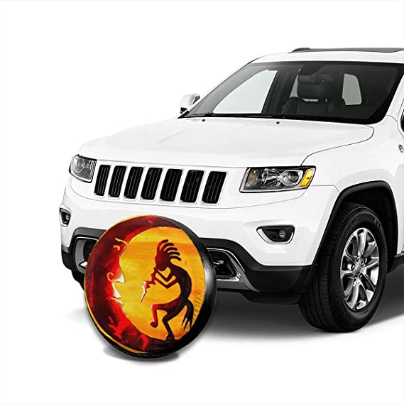 14 15 16 17 Mrsangelalouise Spare Tire Cover Universal Wheel Covers for Jeep Trailer RV SUV Truck and More