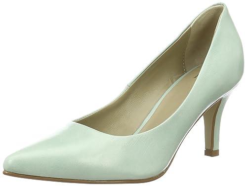 Heerkens Productions BV Nica pump - Zapatos para mujer, color verde, talla 38 amazon-shoes el-beige