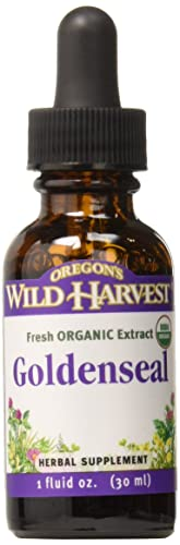 Oregon s Wild Harvest 1 2 Fresh Organic Goldenseal Extract, 1 Fluid Ounce
