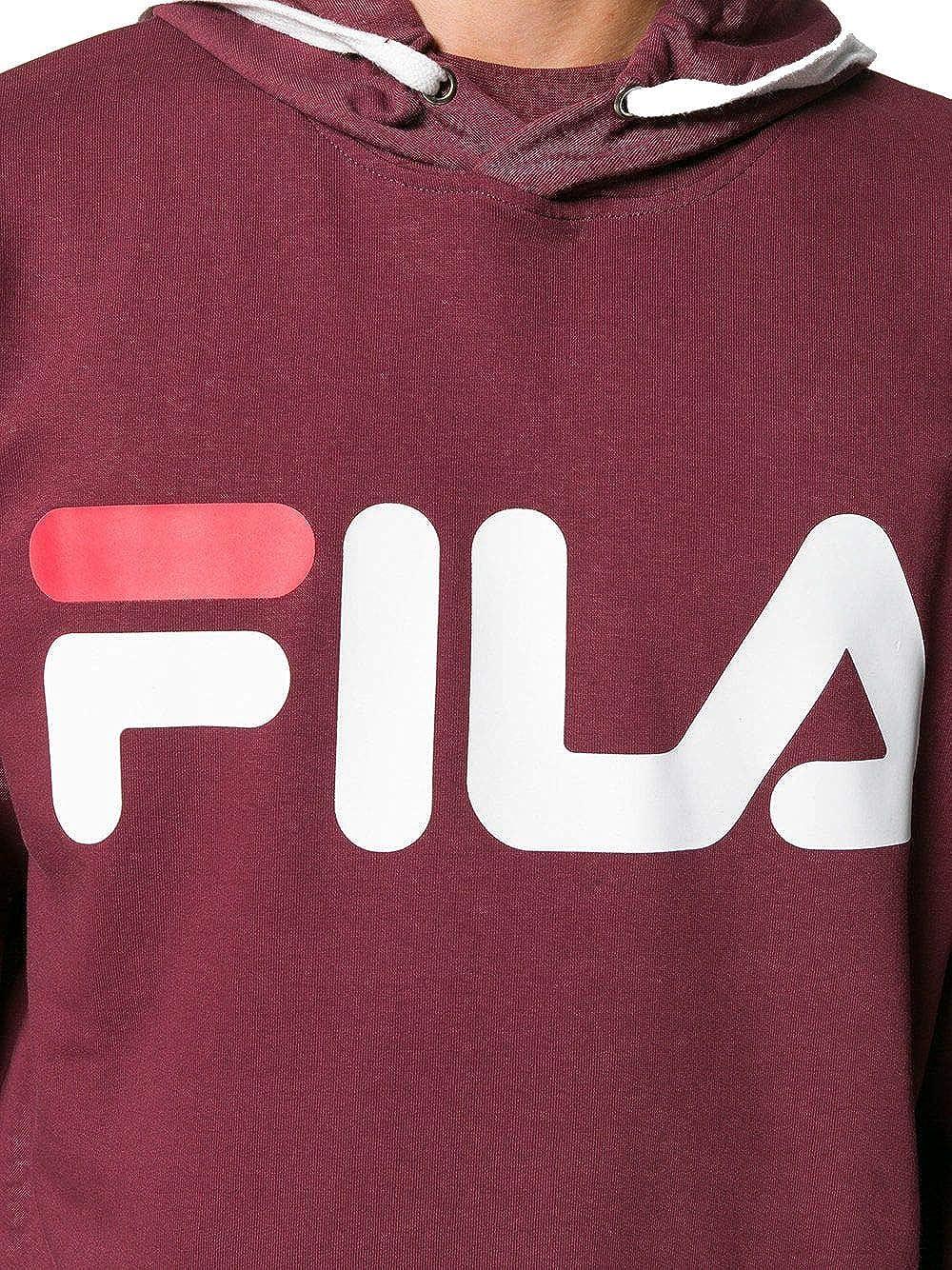 1964eda50bc4e Fila - Sweat-Shirt - Homme Rouge Bordeaux - - Marke Taille M: Amazon.fr:  Vêtements et accessoires