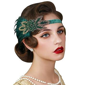 Brand New Flapper 1920s Sequin Headband Accessory