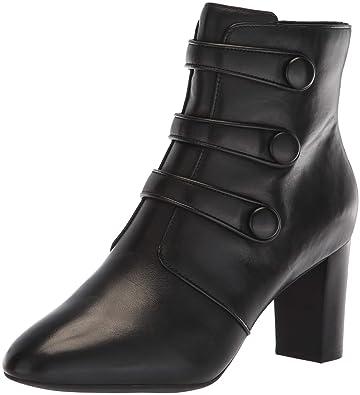 07dbff346 CLARKS Women s Chryssa Ella Fashion Boot Black Leather 050 ...